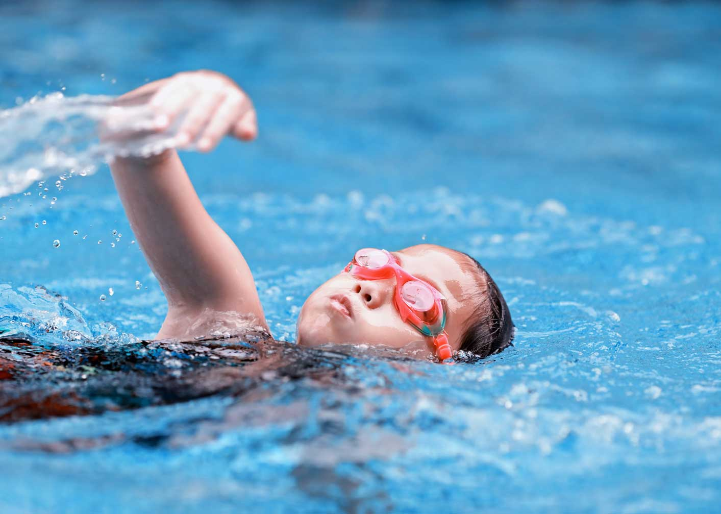 kids advanced swimming lessons